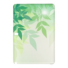 Spring Leaves Nature Light Samsung Galaxy Tab Pro 12 2 Hardshell Case by Simbadda