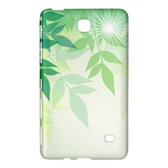 Spring Leaves Nature Light Samsung Galaxy Tab 4 (8 ) Hardshell Case  by Simbadda