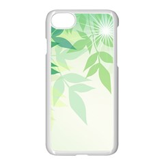 Spring Leaves Nature Light Apple Iphone 7 Seamless Case (white) by Simbadda