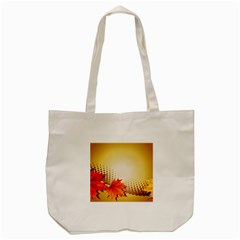 Background Leaves Dry Leaf Nature Tote Bag (cream) by Simbadda