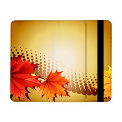 Background Leaves Dry Leaf Nature Samsung Galaxy Tab Pro 8 4  Flip Case by Simbadda