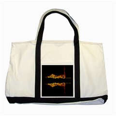 Waste Incineration Incinerator Two Tone Tote Bag by Simbadda