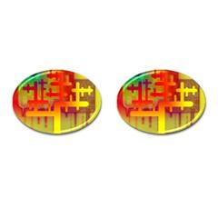 Binary Binary Code Binary System Cufflinks (oval) by Simbadda