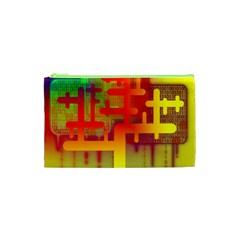Binary Binary Code Binary System Cosmetic Bag (xs) by Simbadda