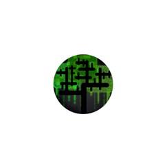 Binary Binary Code Binary System 1  Mini Buttons by Simbadda
