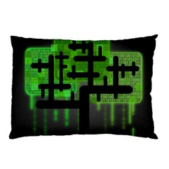 Binary Binary Code Binary System Pillow Case (two Sides)