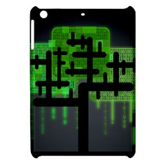 Binary Binary Code Binary System Apple Ipad Mini Hardshell Case by Simbadda