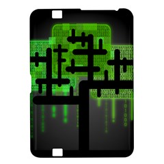Binary Binary Code Binary System Kindle Fire Hd 8 9  by Simbadda
