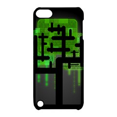 Binary Binary Code Binary System Apple Ipod Touch 5 Hardshell Case With Stand by Simbadda