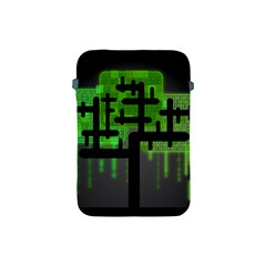 Binary Binary Code Binary System Apple Ipad Mini Protective Soft Cases by Simbadda