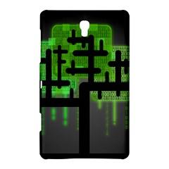 Binary Binary Code Binary System Samsung Galaxy Tab S (8 4 ) Hardshell Case  by Simbadda
