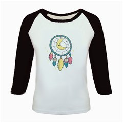 Cute Hand Drawn Dreamcatcher Illustration Kids Baseball Jerseys by TastefulDesigns