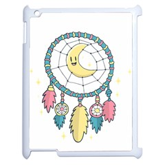 Cute Hand Drawn Dreamcatcher Illustration Apple Ipad 2 Case (white) by TastefulDesigns