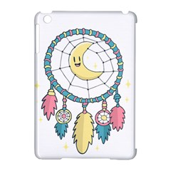 Cute Hand Drawn Dreamcatcher Illustration Apple Ipad Mini Hardshell Case (compatible With Smart Cover) by TastefulDesigns
