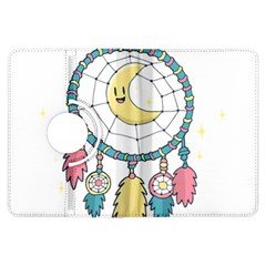 Cute Hand Drawn Dreamcatcher Illustration Kindle Fire Hdx Flip 360 Case by TastefulDesigns