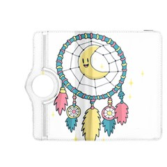 Cute Hand Drawn Dreamcatcher Illustration Kindle Fire Hdx 8 9  Flip 360 Case by TastefulDesigns