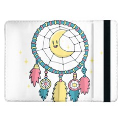 Cute Hand Drawn Dreamcatcher Illustration Samsung Galaxy Tab Pro 12 2  Flip Case by TastefulDesigns