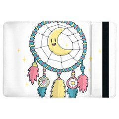 Cute Hand Drawn Dreamcatcher Illustration Ipad Air 2 Flip by TastefulDesigns