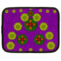 Buddha Blessings Fantasy Netbook Case (xxl)  by pepitasart