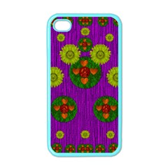 Buddha Blessings Fantasy Apple Iphone 4 Case (color) by pepitasart