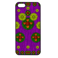 Buddha Blessings Fantasy Apple Iphone 5 Seamless Case (black) by pepitasart