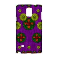 Buddha Blessings Fantasy Samsung Galaxy Note 4 Hardshell Case by pepitasart