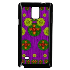 Buddha Blessings Fantasy Samsung Galaxy Note 4 Case (black) by pepitasart
