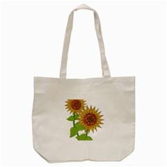 Sunflowers Flower Bloom Nature Tote Bag (cream) by Simbadda