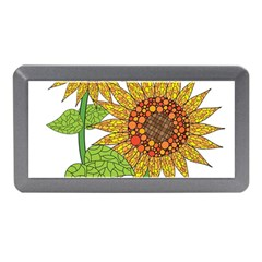 Sunflowers Flower Bloom Nature Memory Card Reader (mini) by Simbadda