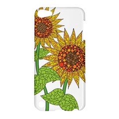 Sunflowers Flower Bloom Nature Apple Ipod Touch 5 Hardshell Case by Simbadda