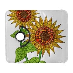 Sunflowers Flower Bloom Nature Galaxy S3 (flip/folio) by Simbadda