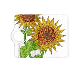 Sunflowers Flower Bloom Nature Kindle Fire Hd (2013) Flip 360 Case by Simbadda
