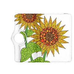 Sunflowers Flower Bloom Nature Kindle Fire Hdx 8 9  Flip 360 Case by Simbadda