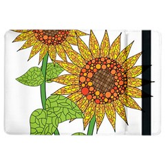 Sunflowers Flower Bloom Nature Ipad Air 2 Flip by Simbadda