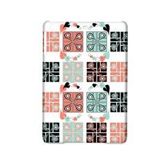 Mint Black Coral Heart Paisley Ipad Mini 2 Hardshell Cases by Simbadda