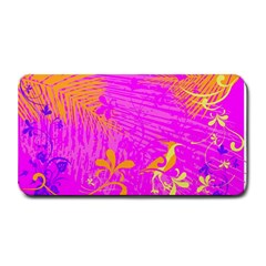 Spring Tropical Floral Palm Bird Medium Bar Mats by Simbadda