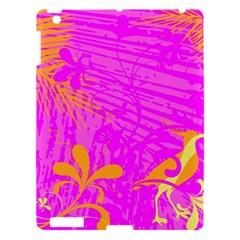 Spring Tropical Floral Palm Bird Apple Ipad 3/4 Hardshell Case by Simbadda