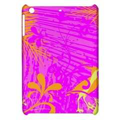 Spring Tropical Floral Palm Bird Apple Ipad Mini Hardshell Case by Simbadda