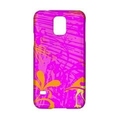 Spring Tropical Floral Palm Bird Samsung Galaxy S5 Hardshell Case  by Simbadda