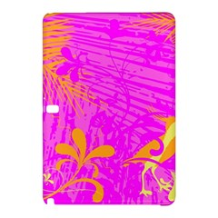 Spring Tropical Floral Palm Bird Samsung Galaxy Tab Pro 10 1 Hardshell Case by Simbadda