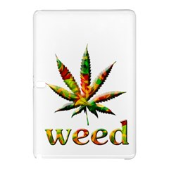 Marijuana Leaf Bright Graphic Samsung Galaxy Tab Pro 12 2 Hardshell Case by Simbadda