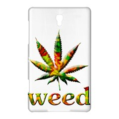 Marijuana Leaf Bright Graphic Samsung Galaxy Tab S (8 4 ) Hardshell Case  by Simbadda
