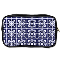 Leaves Horizontal Grey Urban Toiletries Bags 2 Side by Simbadda