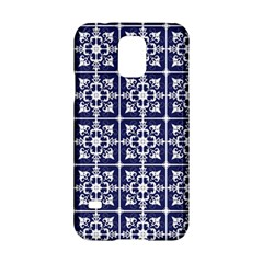 Leaves Horizontal Grey Urban Samsung Galaxy S5 Hardshell Case  by Simbadda