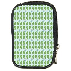 Leaf Flower Floral Green Compact Camera Cases