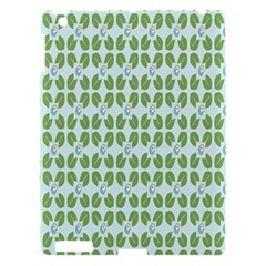 Leaf Flower Floral Green Apple Ipad 3/4 Hardshell Case by Alisyart