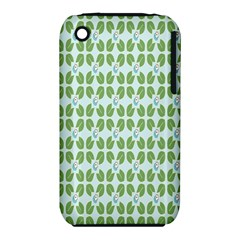 Leaf Flower Floral Green Iphone 3s/3gs by Alisyart
