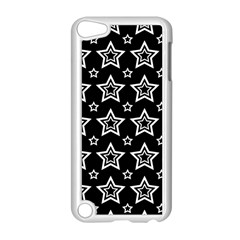 Star Black White Line Space Apple Ipod Touch 5 Case (white) by Alisyart