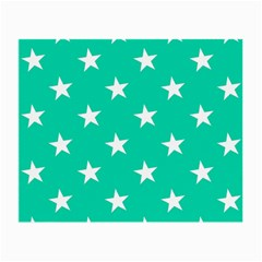 Star Pattern Paper Green Small Glasses Cloth (2 Side) by Alisyart