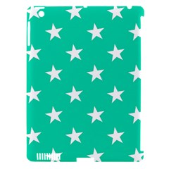 Star Pattern Paper Green Apple Ipad 3/4 Hardshell Case (compatible With Smart Cover) by Alisyart
